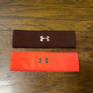 Under Armour headbands two pack